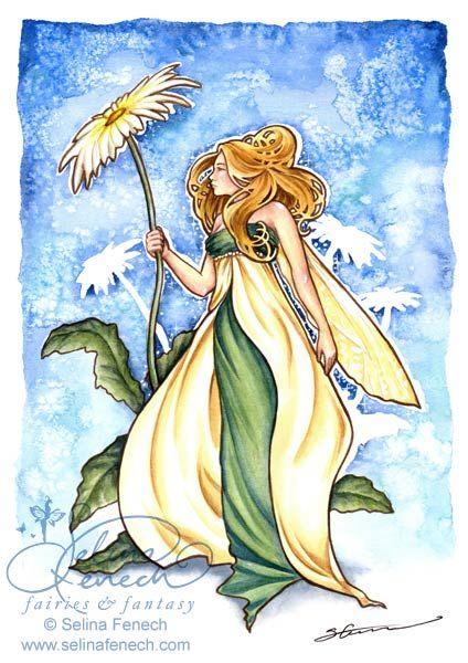 """""""Daisy"""" -   Archives @ Selina Fenech – Fairy Art and Fantasy Art Gallery"""
