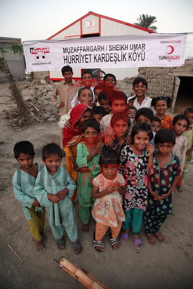 Türk Kızılayı Pakistan da