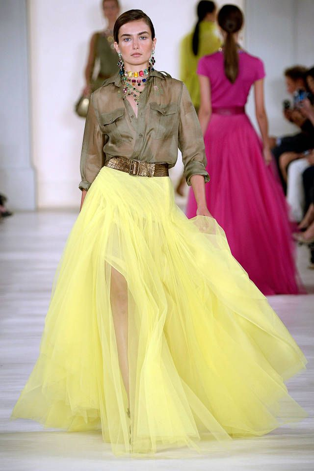 Ralph Lauren Spring 2015. See all the top runway looks from New York Fashion Week here.
