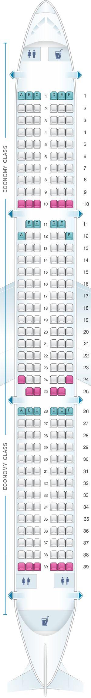 Seat Map Wizz Air Airbus A321 Wizz Air Srilankan