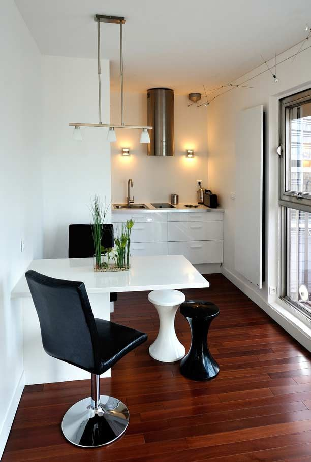Apartamento Com Cozinha Minima Cozinha Cozinha Americana