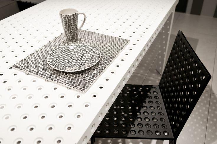 pattern designed by Oskar Zieta  chair: https://shop.zieta.pl/pl,p,27,96,_chair.html  table: https://shop.zieta.pl/pl,p,27,100,_table.html