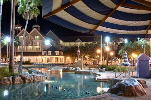 A 3 acre sand bottom pool....absolutely fabulous! Disney World's Yacht and Beach Club Resorts