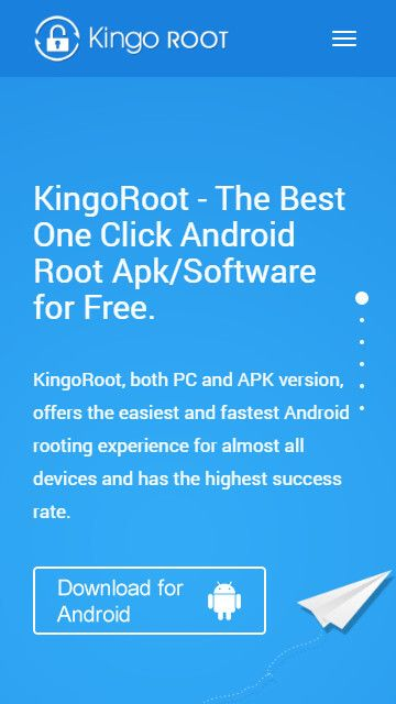 Free download KingoRoot.apk, the best one click Android Root tool for free