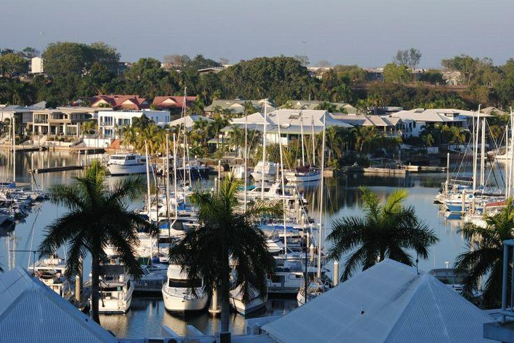Cullen Bay.  N. T. Australia.