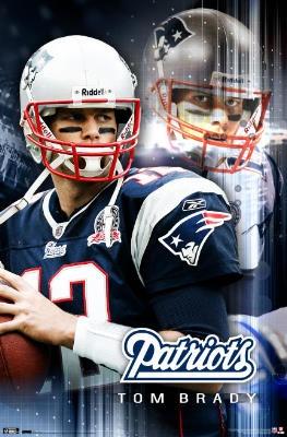 Tom Brady New England Patriots poster $12.80