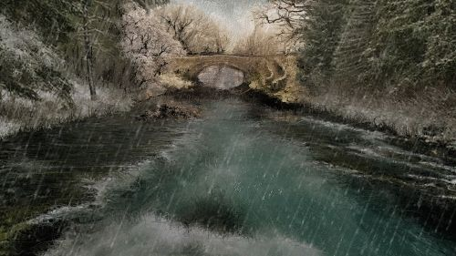 Art picture by Seizi.N すいません、見れない人もいると聞いておりますが、雪と雨を僕の描いた絵にモーション加工をしてみました。  昔の僕のオーディオみたいで懐かしいです。 獄道音響道 WE12Aホーンシステムでビリー・ホリデイを聴く http://youtu.be/b-nnIwrvNHE