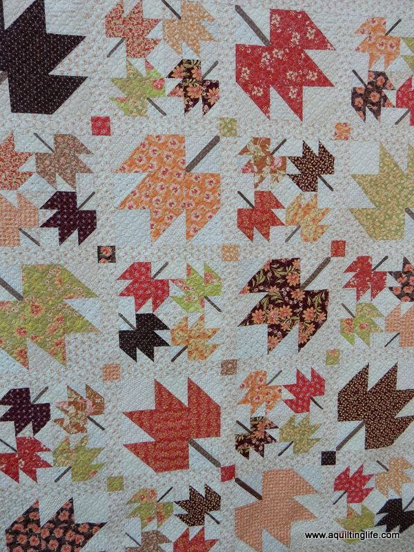 Maple Sky | New Quilt Pattern | A Quilting Life - a quilt blog