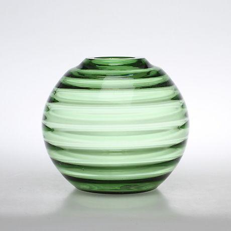 KLOTVAS, glas, funkis, 1930/40-tal. Glas - Övrigt – Auctionet