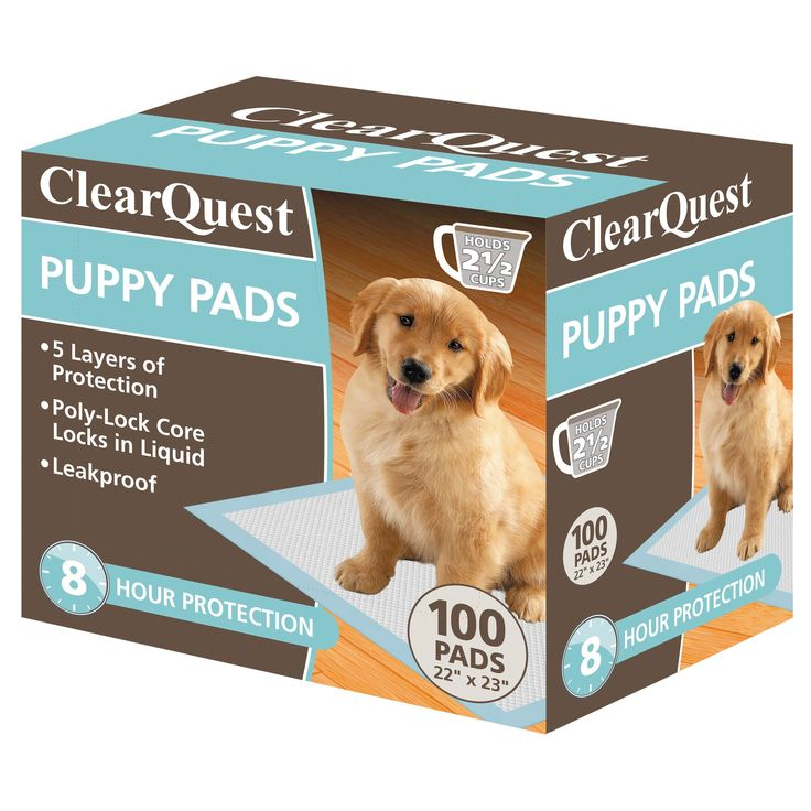 ClearQuest Puppy Pads 100ct Box, White