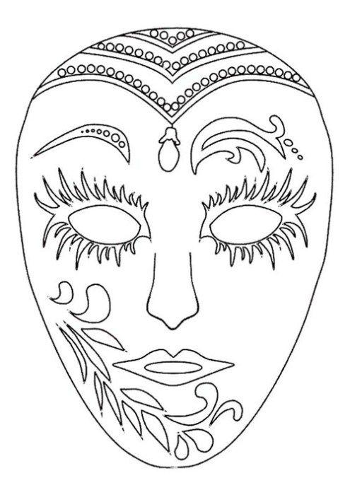 Masque maya Super Coloring Dessin Mayan mask Aztec mask