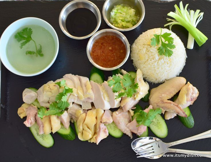 This Hainan Chicken Rice (also known as Hainanese Chicken Rice) recipe adopts the sous vide cooking method to ensure a foolproof tender and moist chicken.