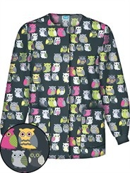 owl scrub jacket