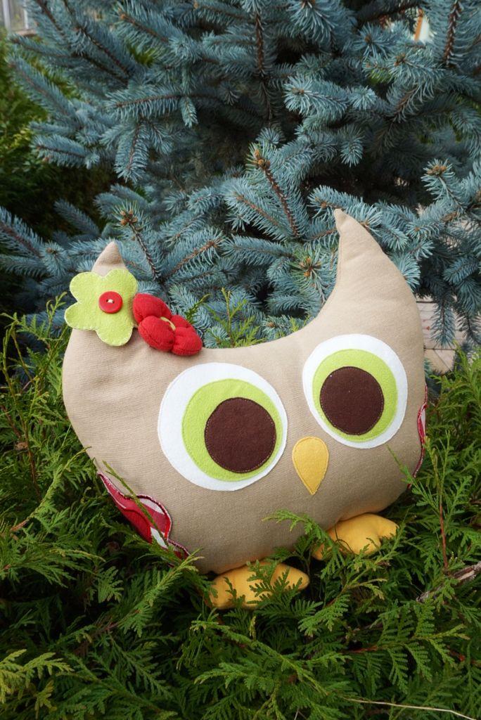 Baykuş dekoratif yastık / owl pillow