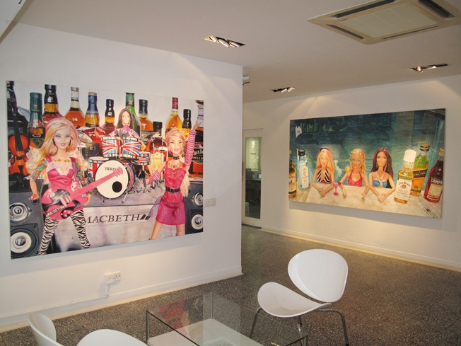 'Pool Party' Taksu Gallery kuala lumpur 2012