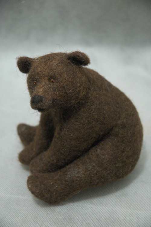 Stuffed Animals by Natasha Fadeeva check out this girls site she makes the most amazing stuffed animals