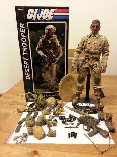 Sideshow Toys GI-Joe DUSTY 1/6 Scale Military Figure Cobra Gijoe
