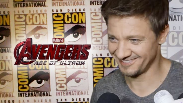 Jeremy Renner Talks Hawkeye In Avengers 2 Age of Ultron - Comic Con 2014 - Clevver Movies