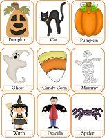 Halloween Flashcards FREE!!!!!!
