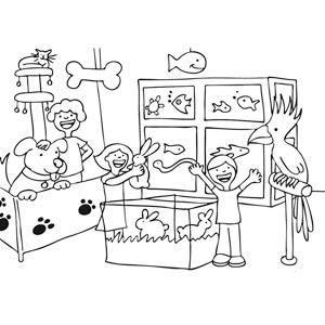 Dibujos tiendas para colorear buscar con google - Como iluminar un escaparate ...