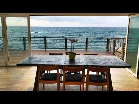 BEACH HOUSE TOUR HAWAII - YouTube