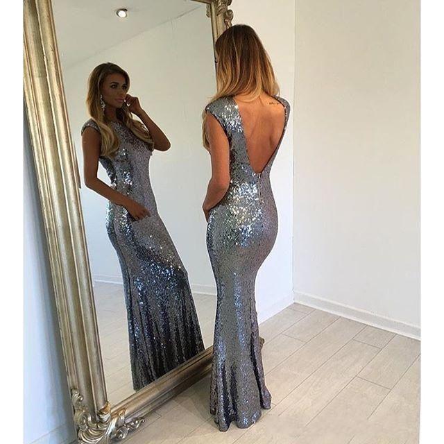 Elegant Blue Backless Prom Dresses 2016 Mermaid Long Bridesmaid Dresses For Wedding Custom Made Formal Party Dresses For Women Cheap Bridesmaids Dresses Sale Cerise Pink Bridesmaid Dresses From Sexypromdress, $84.82| Dhgate.Com