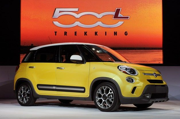 Fiat 500L: Saw one of these on the road recently and in my opinion was they look like fatter, sexier, Mini Coopers. Agree or disagree?