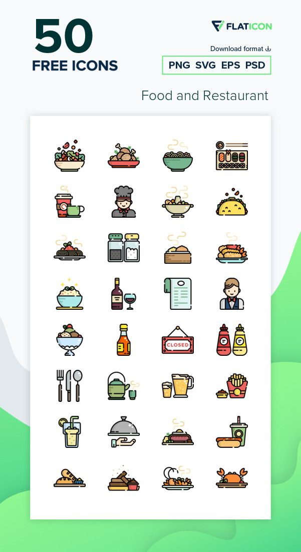 50 Free Vector Icons Of Food And Restaurant Designed By Freepik In 2021 Vector Free Icon Instagram Photo Frame