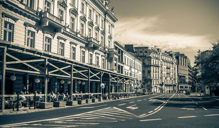 Three Crosses Square (Pl. Trzech Krzyzy), Warsaw, Poland