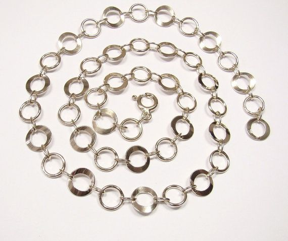 SQASH  chain 9.4MM   sterling silver 925  length to by DawidPandel, zł111.00