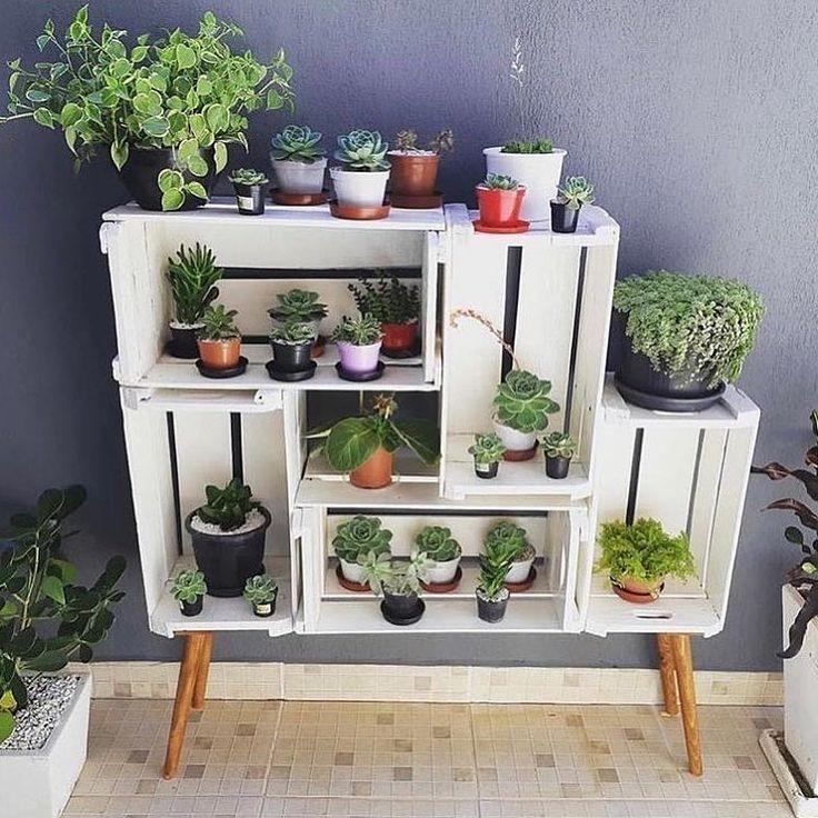 Die Blumen- und Sukulent-Ecke, die Sie aus dem Tresorraum herstellen können ******************************* Neue Produkte, neue Ideen, Holz und kleine Häuser, nas. .. – Meryem Özkaya
