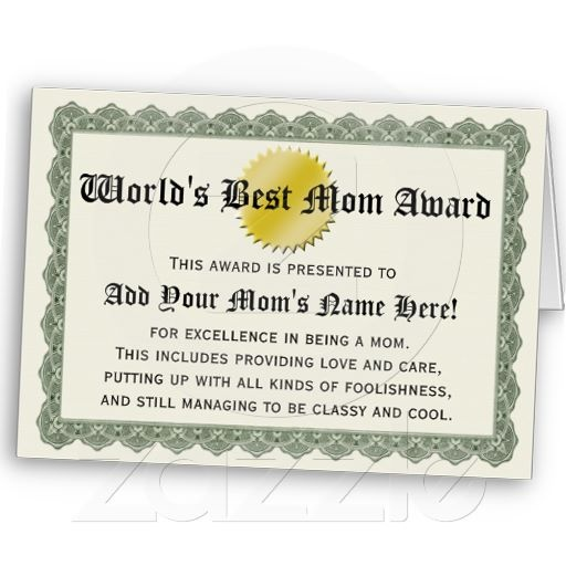 45 best Certificate images on Pinterest Cards, Fathers day and - certificate of recognition wordings