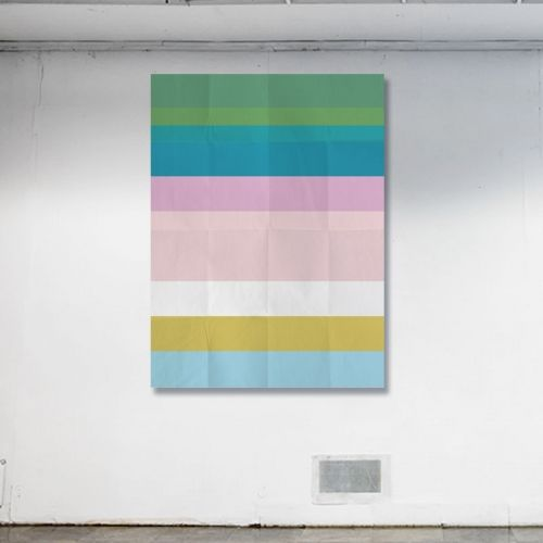 Stripe One 76 x 102cm, Digital montage on canvas Object of Desire Art Gallery