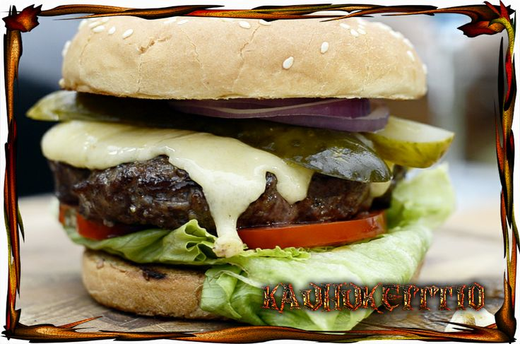 Creating a great burger starts from love to burger itself!
