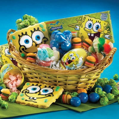 75 best easter baskets gifts and crafts images on pinterest will someone make this for me lol spongebob squarepants easter basket negle Choice Image