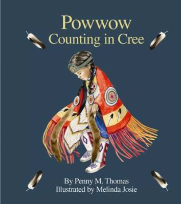 Numbers one to ten in Cree reflect the imagery of powwow.