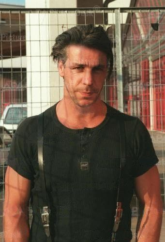 Rammstein's Till Lindemann <33 beautiful German xP