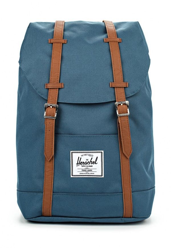 Рюкзак Herschel Supply Co RETREAT Рюкзак Herschel Supply Co. Цвет: синий. Материал: полиэстер, искусственная кожа. Сезон: Осень-зима 2016/2017. Спорт и отдых/Рюкзаки