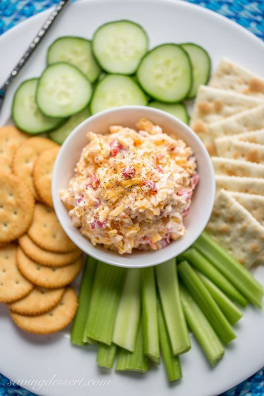 Southern-Style Pimento Cheese spread ... the quintessential southern food