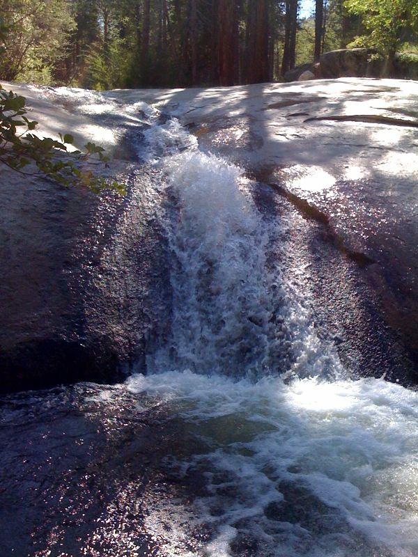 Lake Isabella Natural Water Slides