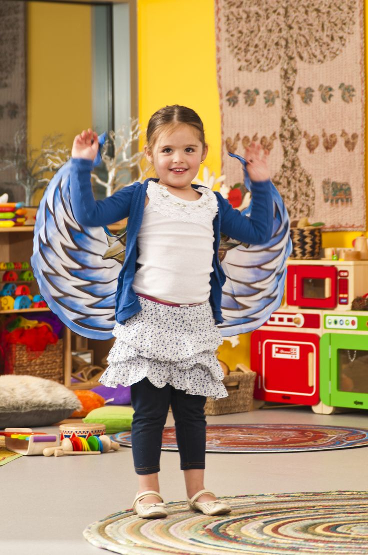 A beautiful set of wings for dramatic play.