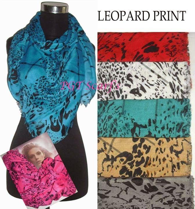 Square Scarves Vintage... leopard, hermes, verscase