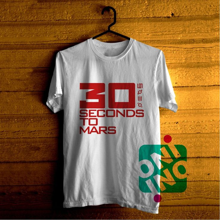 30 Seconds to Mars Tshirt For Men / Women Shirt Color Tees