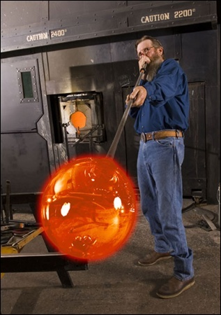 The Silver Dollar City Glassblower is a must see and of course Larry Davenport always bought me souvenirs.