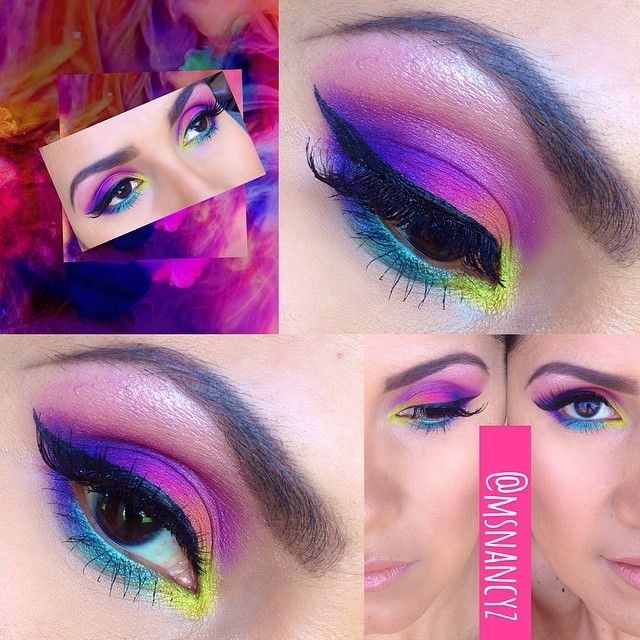 I am so loving the new @urbandecaycosmetics #electricpalette. Perfect for spring!!!