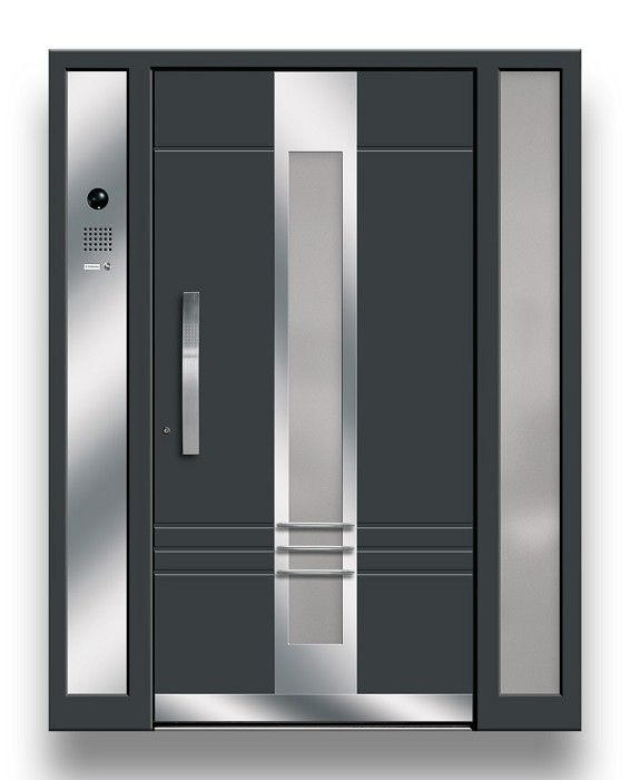 ontwerp van voordeur een moderne en grafische sterk ontworpen. Black Bedroom Furniture Sets. Home Design Ideas