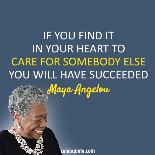 Maya Angelou Quotes And Sayings: Maya Angelou Quotes On Empathy. QuotesGram