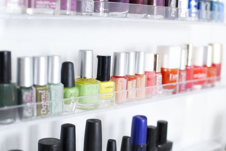 Nail polish rack  // Nagellacks hylla