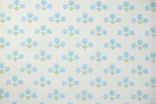 1960s Floral Vintage Wallpaper Hannah S Treasures Vintage Wallpaper Vintage Wallpaper Wallpaper Antique Wallpaper