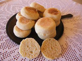 PAN Y OTRAS VIANDAS: Bollos ingleses sin horneado (muffin inglés)